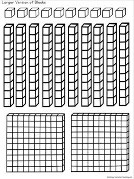 Place Value Jellyfish Math Craft (From Crafty Math Bundle 1)