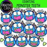 Counting Monster Teeth {Creative Clips Clipart}