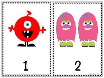 Counting Monsters (1-10)  FREEBIE!