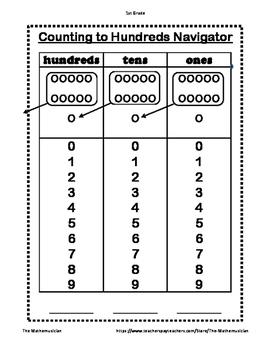 Counting Navigator - 1st Grade