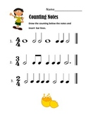 Counting Notes Happy Boy