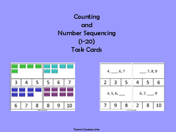 Counting & Number Sequencing (1-20)