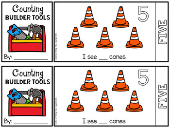 Counting Number Flip Book - Builder Tools