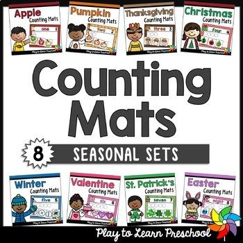 Counting Number Mat Bundle