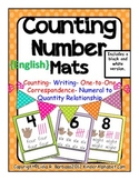 Counting Number Mats- English