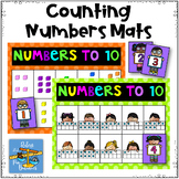 Counting Number Mats ~ Numbers 1-10