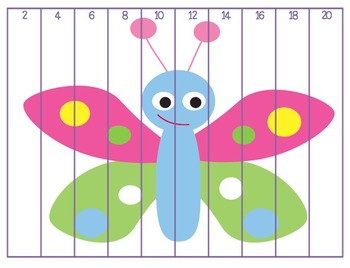 Counting Number Puzzles Bundle