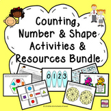 Counting, Number Sense and Shape: Activities & Resources Bundle