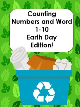 Counting Number and Word: Earth Day Edition