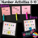 Math Activity Counting Objects Numbers 0-10