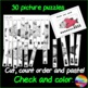 Counting Numbers 0-10 Cut & Order BUNDLE Math Center Activity