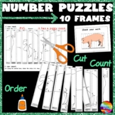 Kinder Math Centre 10 FRAMES Activity Puzzles 0-10