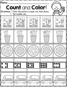 Counting Numbers 0-20
