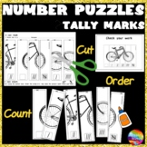 Math Activities and puzzles TALLY MARKS Counting Number 0-5