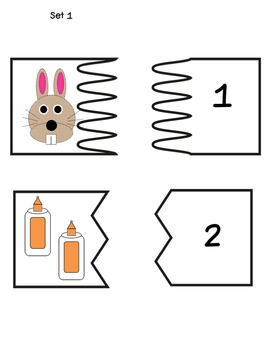 Counting Numbers 1-19: Using Puzzle Pieces for Picture and Word Recognition