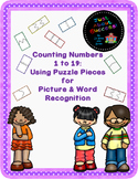 Counting Numbers 1-19: Using Puzzle Pieces for Picture and