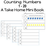 Counting Numbers 1 - 20 reinforce number recognition along with 1:1 counting.
