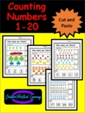 Counting Numbers 1-20 / Cut and Paste