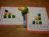 Counting Numbers 1-5 Activity Mats Math