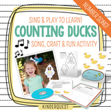 Counting Numbers 1-5 Little Ducks | Song, Game & Activity