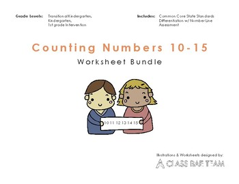 Counting Numbers 10-15