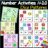Math Activity DICE Patterns Counting Numbers 11-20