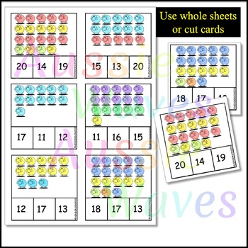 Math Counting Activity Numbers 11-20