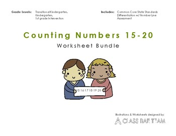 Counting Numbers 15-20