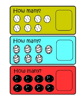 Counting Numbers 6-10
