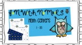 Counting Numbers In Order Math Center 1 - 120 ( Owl Edition )