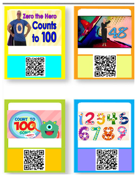 Counting Numbers ~ QR codes
