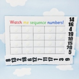 Counting Numbers To 20 - Sequence Numbers - Toddler Matching Number Activity