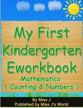 Counting Numbers and Shapes Workbook for Kindergarten