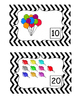 Counting Numbers by 10's Practice Worksheets: