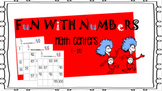Counting Numbers in Order Math Center 1 - 120 ( Cat In the