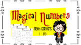 Counting Numbers  in Order Math Center 1 - 120 ( Harry Pot