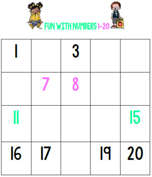Counting Numbers in Order Math Center 1 - 120 ( Melonheadz Edition )
