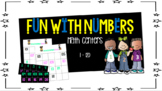 Counting Numbers in Order Math Center 1 - 120 ( Melonheadz