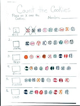 Counting Numbers in Spanish
