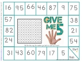 Counting Numbers to 100 Game Board