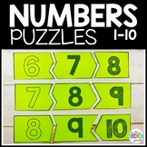 Counting Numbers to 20 Math Puzzles