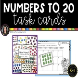 Numbers to 20 - Math Center ~ Task Cards - SCOOT