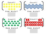 Counting Objects 1 - 15, Simple Shapes, LIfe Skills or Fun