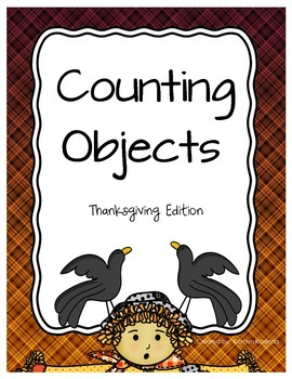 Counting Objects 1-20 - Thanksgiving Edition!