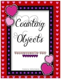 Counting Objects 1-20 - Valentine's Day Edition!