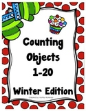 Counting Objects 1-20 - Winter Edition!
