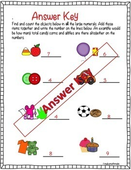 Anchor Charts  For Numbers 1-5 With Recording Sheets