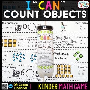 Kindergarten Math Game for Counting Objects - Kindergarten
