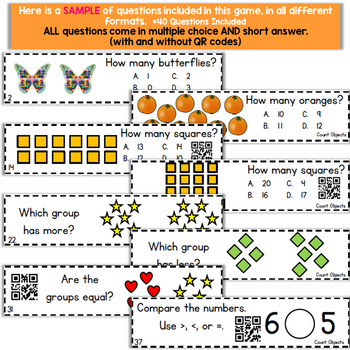 Kindergarten Counting Objects Game