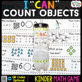 Kindergarten Counting Objects | Kindergarten Math Centers